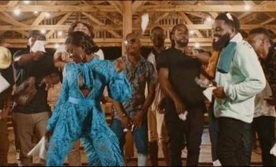 afro b amina remix video