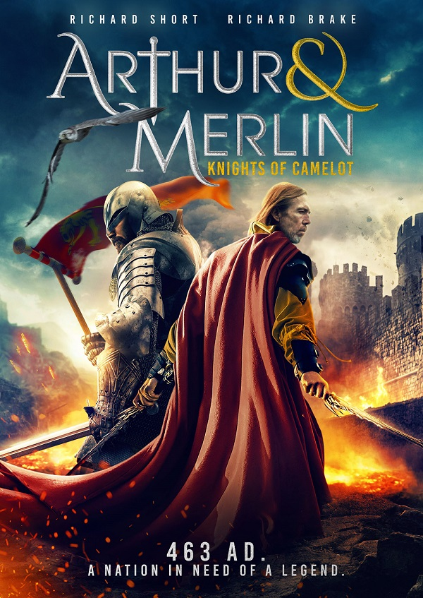 Arthur & Merlin Knights of Camelot movie
