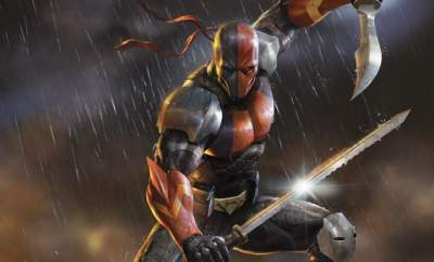 Deathstroke Knights & Dragons movie