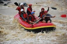 December - Rafting in Citatih River