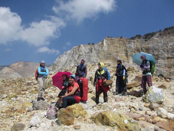 July - Climb Papandayan Mountain