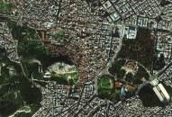 Centro de Atenas, capital da Grécia.