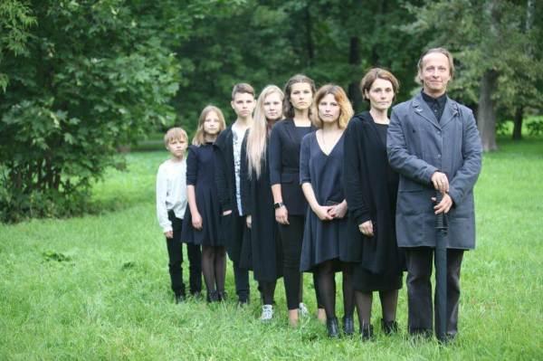 Семья Охлобыстина: жена и дети