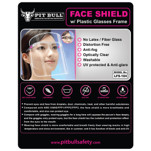 Face Shield for Ladies - Pink