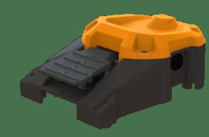 Pédale robuste pour machine outil
