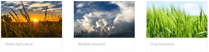 surveillance météo Station pour l'agriculture AERON SYSTEMS