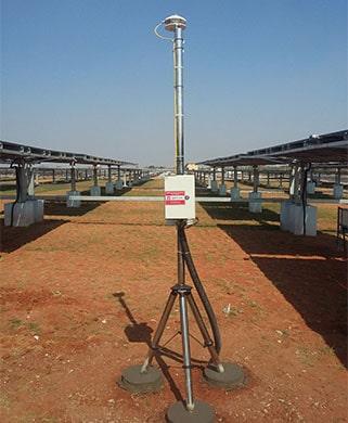 station météo pour énergie solaire
