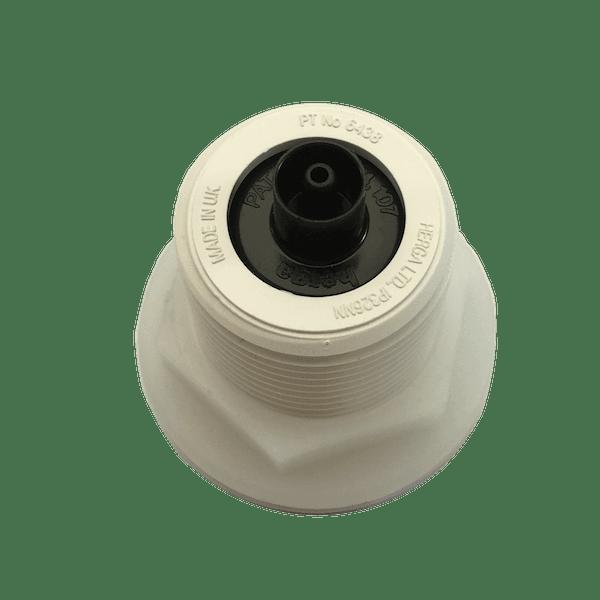 6438-abab-ab00 bouton poussoir blanc pneumatique