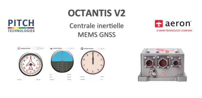 centrale inertielle MEMS GNSS