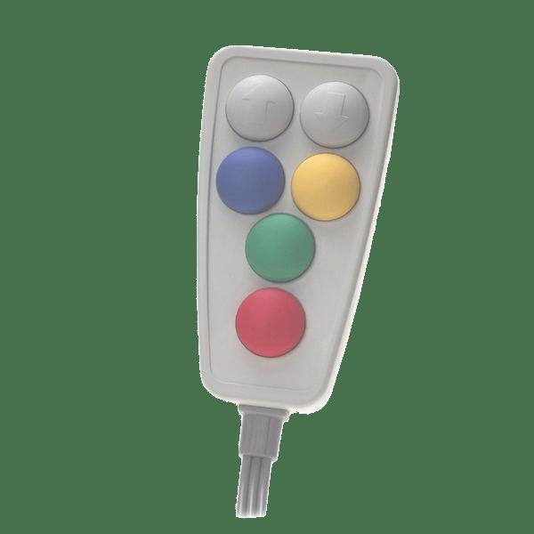 6310 telecommande pneumatique 6 boutons
