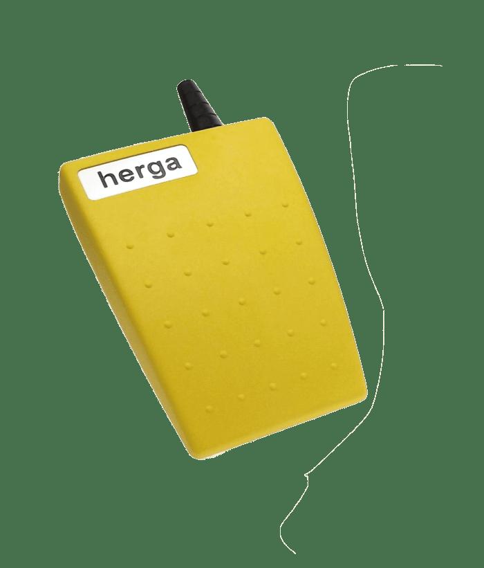 PEDALE ELECTRIQUE JAUNE 6221