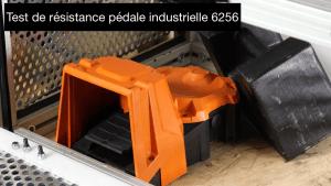 Test de résistance pédale industrielle 6256