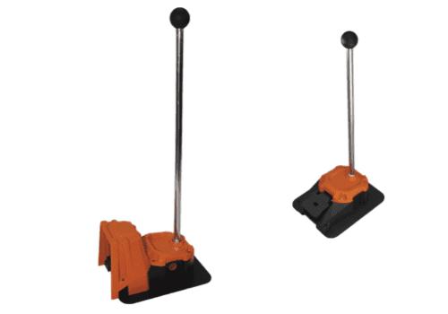 pedale industrielle avec baton de deplacement 6256