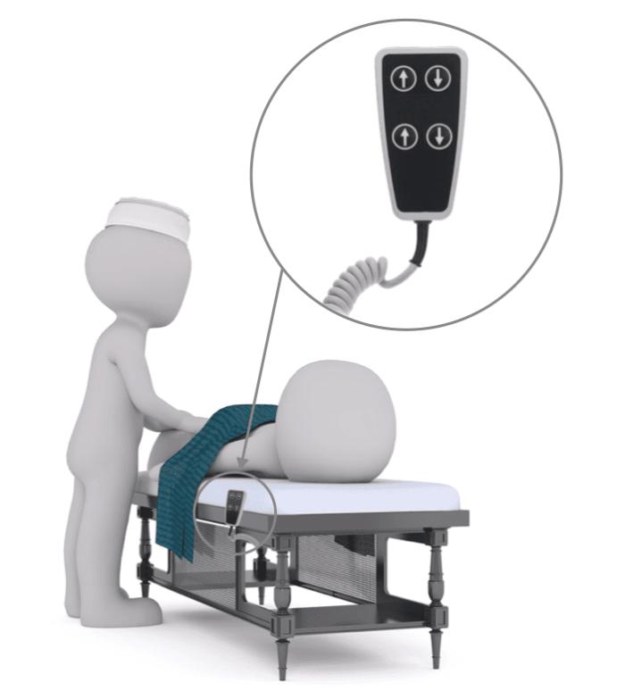 telecommande électrique pour table massage