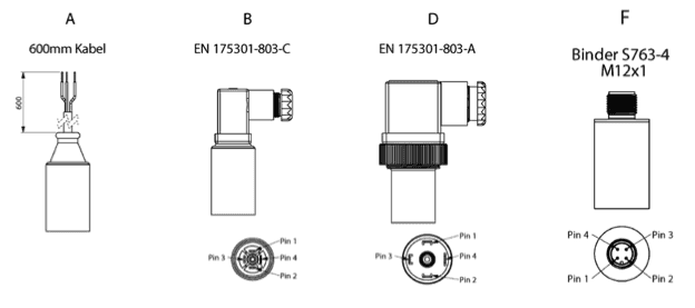 connection des capteurs basse presion cit-3100