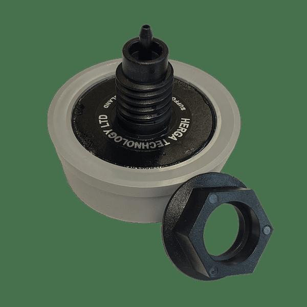 bouton poussoir gris à air 6433-0012