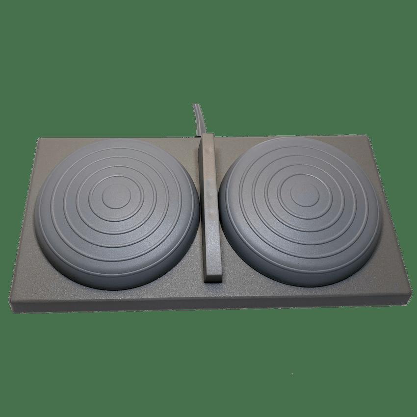 Commande à air grise pour table médicale