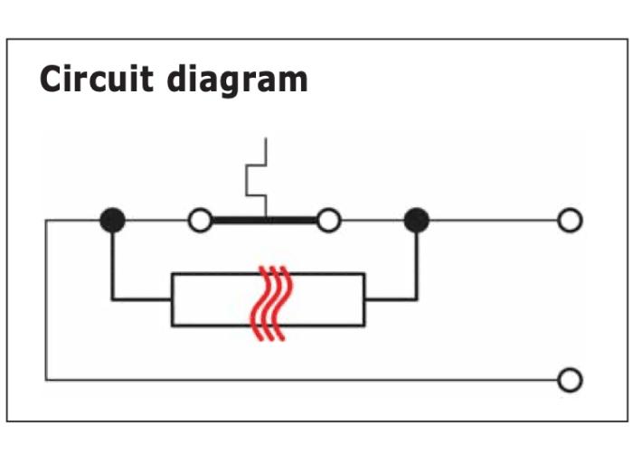 circuit electrique thermostat Q