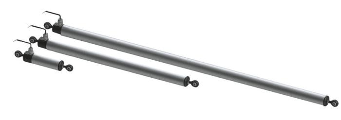 ILT IXTHUS. capteur linéaire inductif ip67 ip69 50mm à 600mm robuste, corps aluminium