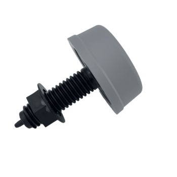 6433-ZB00 bouton gris à air à visser