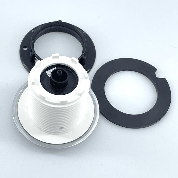 boutons pour piscine chromé bec tuyau 4mm 6442