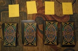 Tarot divination Golden Dawn