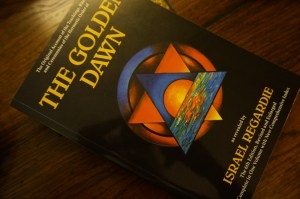 This is the Golden Dawn book. It is written by Israel Regardie.