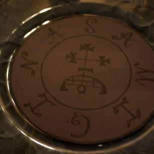Это моя фиолетовая печать демона Самигины.