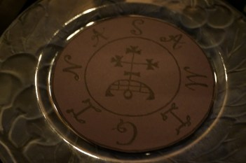 This is my purple seal of demon Samigina.