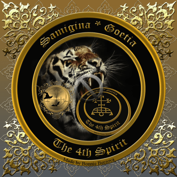 Demon Samigina is described in the Goetia and this is his seal.