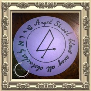 Dies ist das Siegel von Angel Shioel von Clavicula Salomonis.