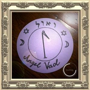 Dies ist das Siegel von Angel Vaol von Clavicula Salomonis.