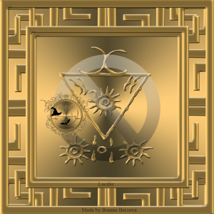 This is the second seal of Lucifer from Grimoirium Verum. This seal is very good too.