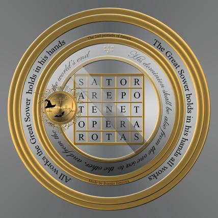2nd pentacle of saturn_latin