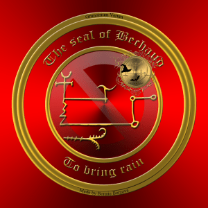 This is the seal of Bechaud from Grimorium Verum.