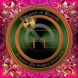 This is the seal of Hagith from Arbatel De magia veterum.