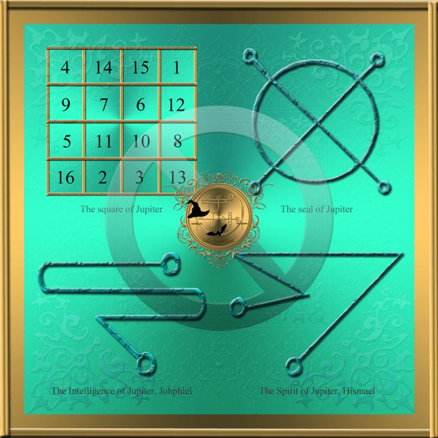 The planetary talisman of Jupiter