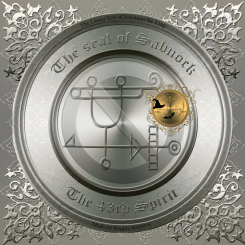 The seal of Sabnock from Goetia