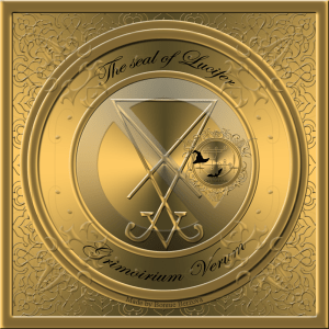 This is the first seal of Lucifer from Grimoirium Verum.