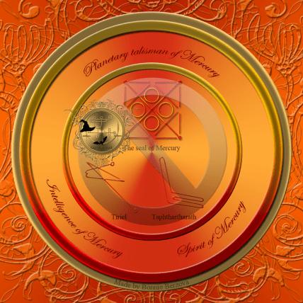 The planetary talisman of Mercury