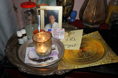 Necromantic magick is very powerful and it can help you to obtain a bank loan.
