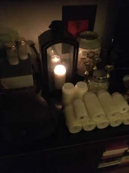 這是我為死去的士兵準備的祭壇。