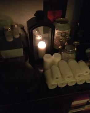 Dies ist mein Nekromantie-Altar für die Toten.
