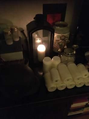 Det här är mitt altare för de döda.