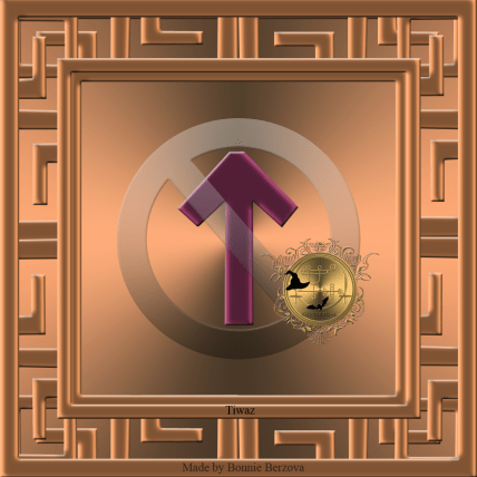 The rune Tiwaz