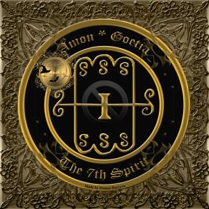 이것은 Goetia에서 Amon의 두 번째 인장입니다.