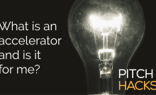 What is an accelerator pitch deck