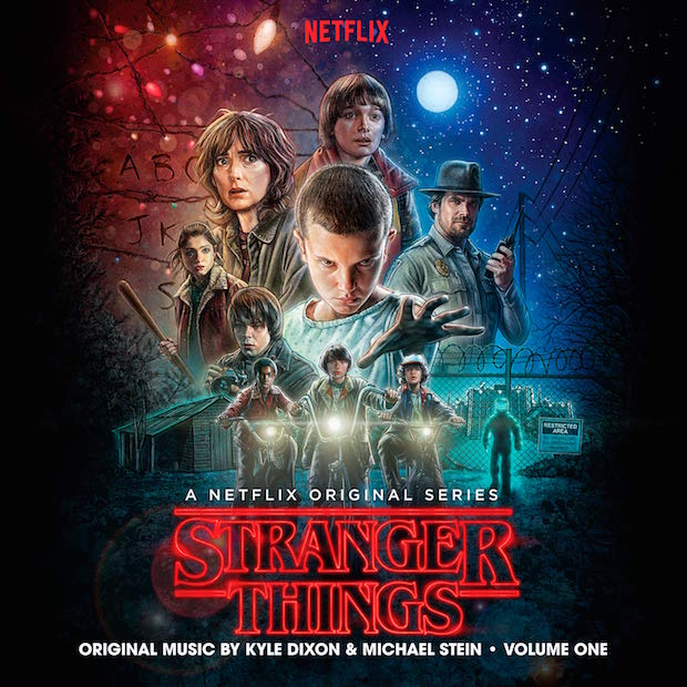 Image result for stranger things soundtrack
