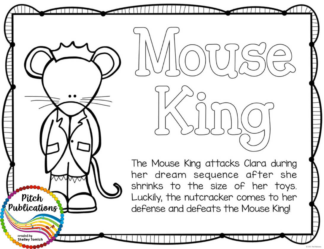 The Nutcracker Series Educational Coloring Pages