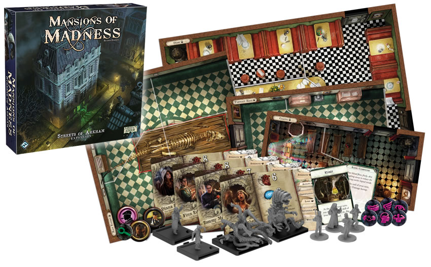 Mansion of Madness 2nd Ed: Streets of Arkham
